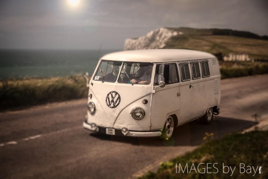Photo of White Volkswagen Bus