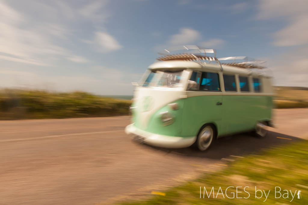 VW Camper in Motion