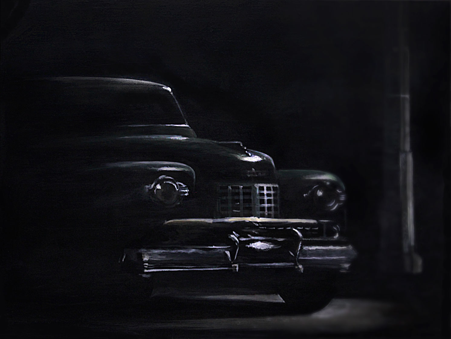Film Noir Oldsmobile