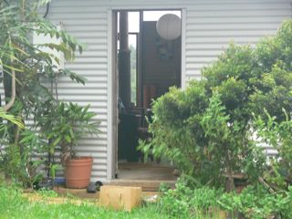 Front Door of Shed