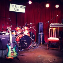 Soundcheck at the Half Moon, Putney