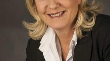 Marine Le Pen. Fuente: Wikipedia. Autor: Foto-AG Gymnasium Melle