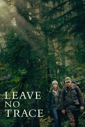 "Poster for the movie ""Leave No Trace"""