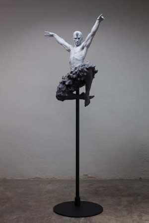 The Swan Dance Coderch Malavia Sculpture Bronze 9368