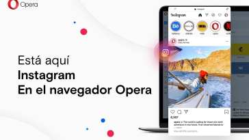 Opera, Ahora con Acceso Directo a Instagram