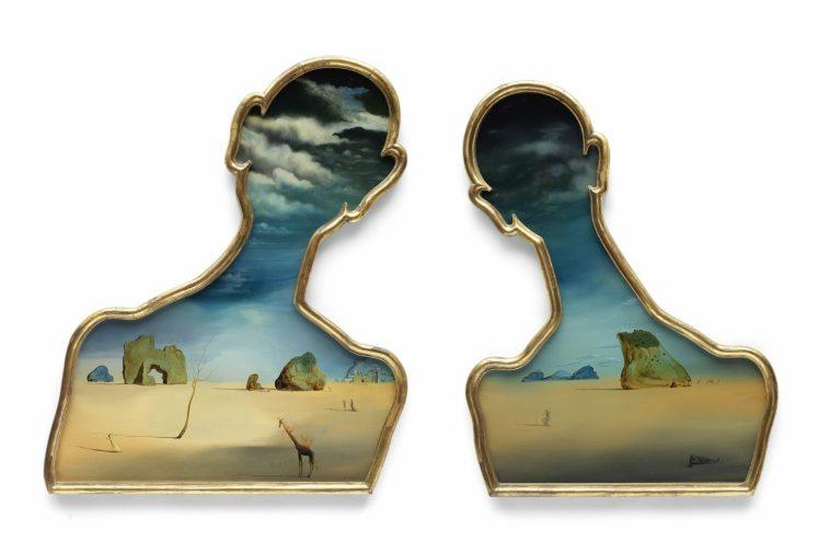 SALVADOR DALI 1904 1989 Couple aux tetes pleines de nuages Painted in 1937 Estimates 7000000 10000000 scaled Obra de Salvador Dalí a Subasta en Bonhams