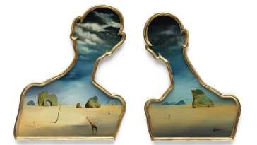 SALVADOR DALI 1904 1989 Couple aux tetes pleines de nuages Painted in 1937 Estimates 7000000 10000000 scaled Obra de Salvador Dalí a Subasta en Bonhams