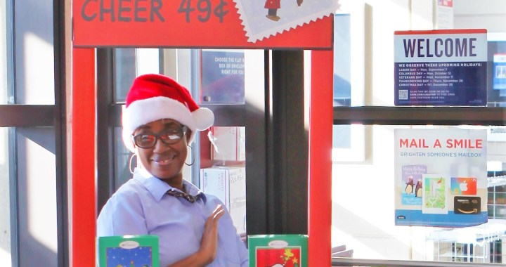 A Charlie Brown Christmas at the Post Office