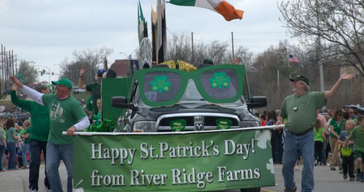 Don't Miss Martin City's St. Patrick's Day Parade on Sunday at 2 pm