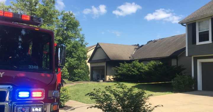 """""""The Entire Street Was Just Gray.""""  House Fire Takes Life of Martin City Man"""