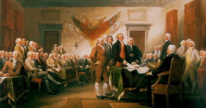 Church Steps Back in Time to 1789, the Year of U.S. Constitution
