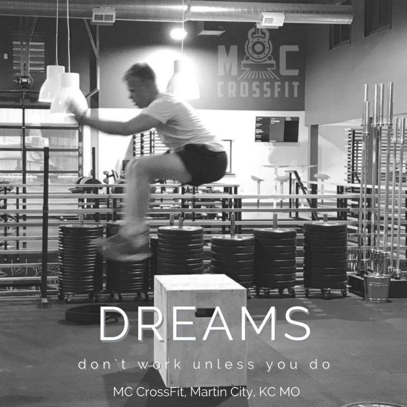 Martin City Crossfit dreams