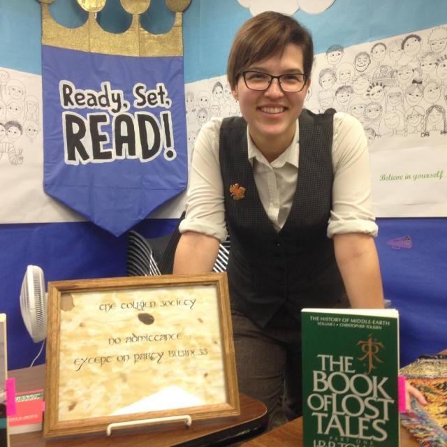 Roberta Park Tolkien talk Oct 2017