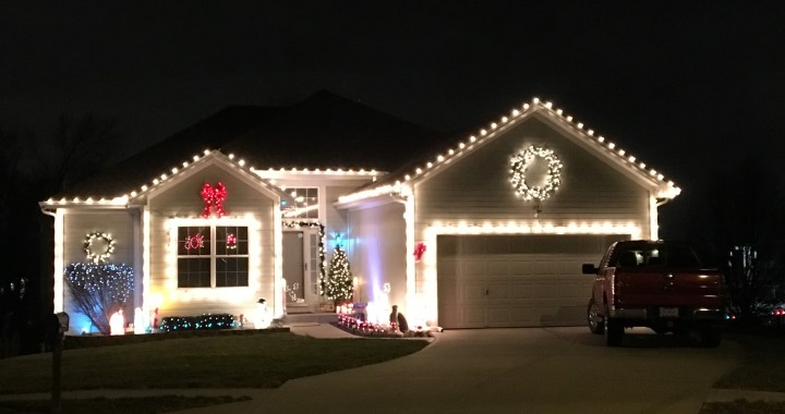 Pack up the kids and go for a ride. Here's a list of some of the best decorated homes in South KC.
