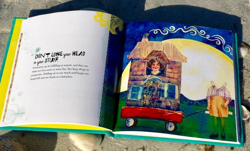 Becky Blades book inside pages