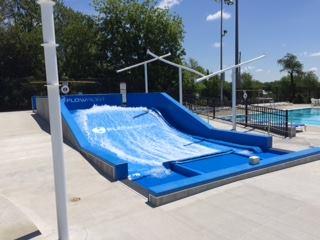 The Bay surf slide