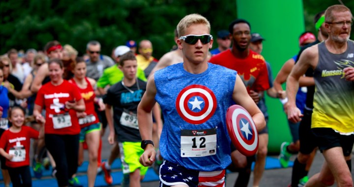 This weekend run like a superhero to help neglected kids