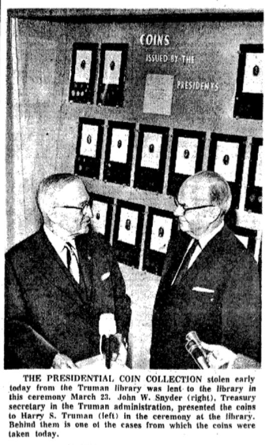 Truman coin collection