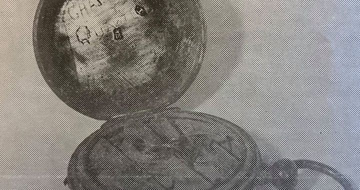 The discovery and disappearance of Quantrill's watch