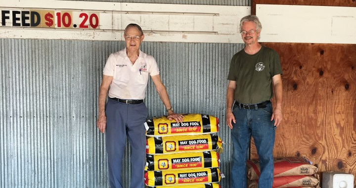 A visit to May Milling Company for pet food is a visit to a simpler time