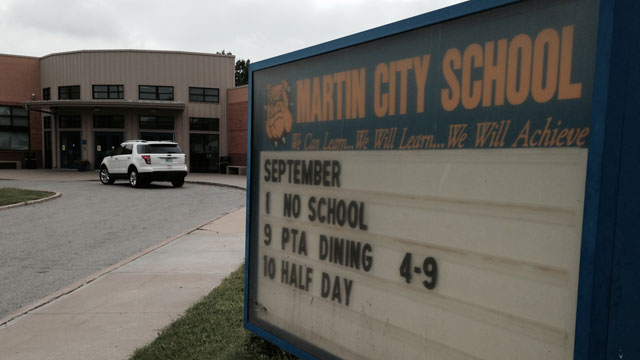 Martin City School asks for community's help