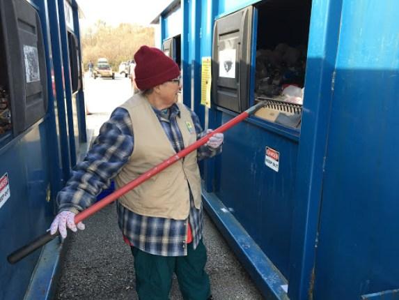 recycle volunteer