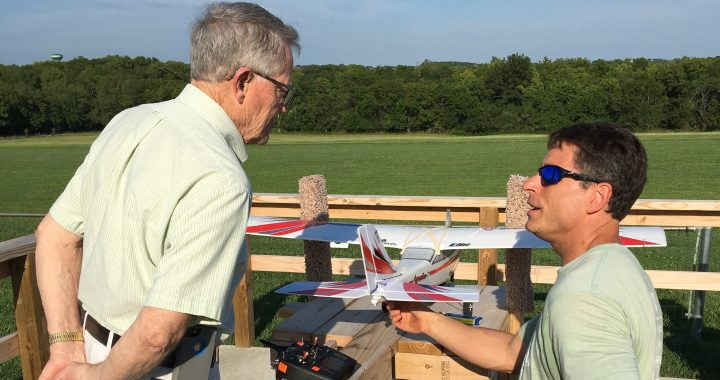 Hobbyists receive recognition for ADA compliant flying field