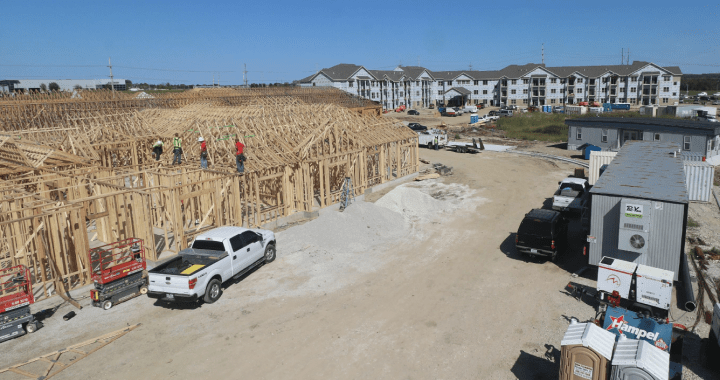 A $34 million senior living complex goes up near Martin City