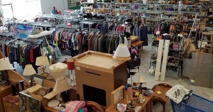Lutheran High School opens Lost and Found Thrift Shop