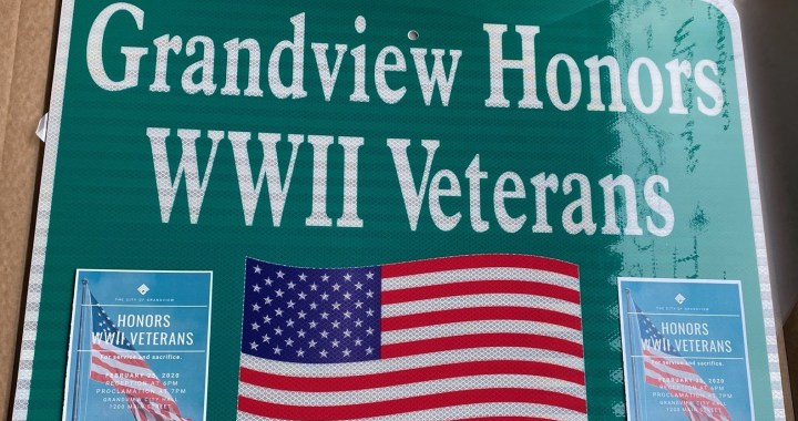 Are you a WWII veteran? Then you're invited to a Grandview ceremony