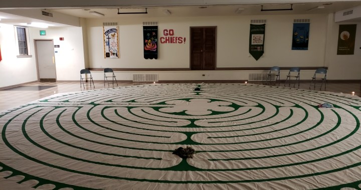 We could all use a little labyrinth in our lives right now