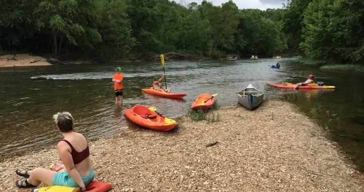 The Ozarks' Niangua River provides a peaceful weekend getaway