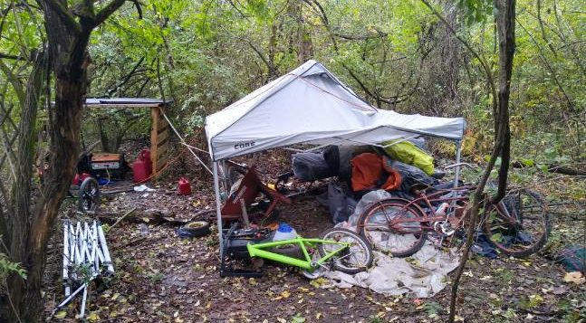 Investigation into south KC homeless camp leads to stolen equipment and other interesting findings