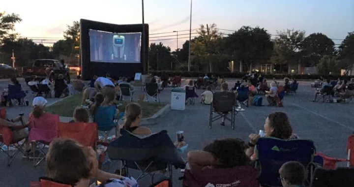 Movies are back at Red Bridge Shopping Center