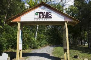 Fontanel Trails Entrance