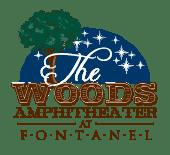 The Woods Amphitheater logo