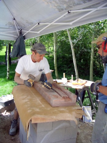 Author, martincooney.com, on site in Aspen, Colorado