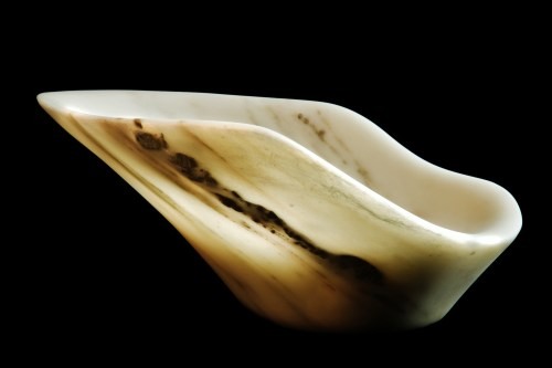 Eve, The Maiden Collection / Yule Marble / SN120103 / 15.25 x 13 x 6.25 inch / 12.2 lbs / $3,000 / photo: Steve Mundinger