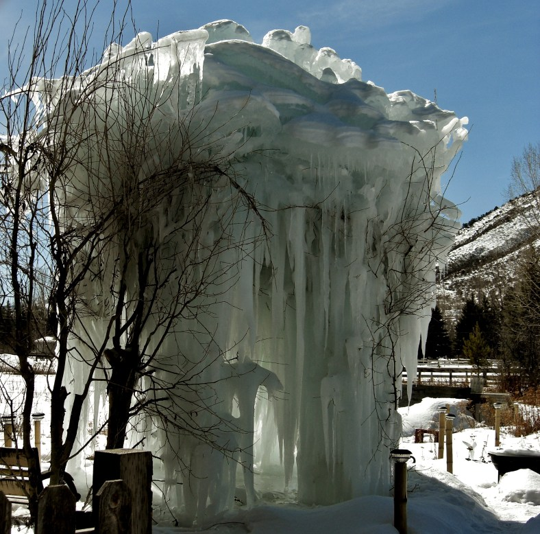 From the Wolf Moon of January to the Snow Moon of February The Ice Palace seemed to defy the laws of gravity.