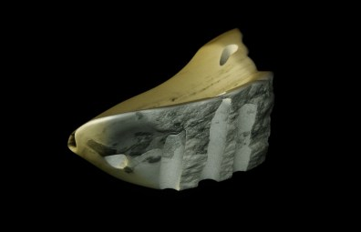 """$1,000 Coliseum 18.5x12.5x25.5"""", The Maiden Collection, Colorado Yule Marble Sculpture by Martin Cooney"""