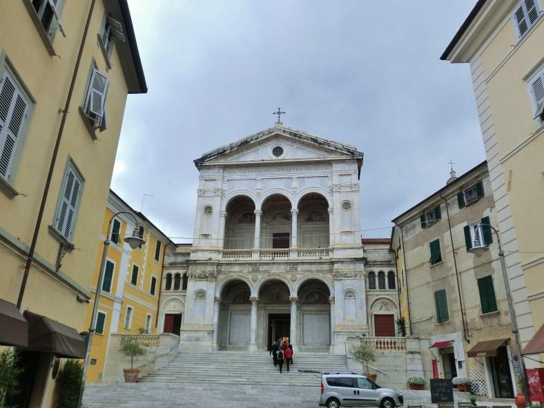 Cathedral, Massa, Tuscany, Italy