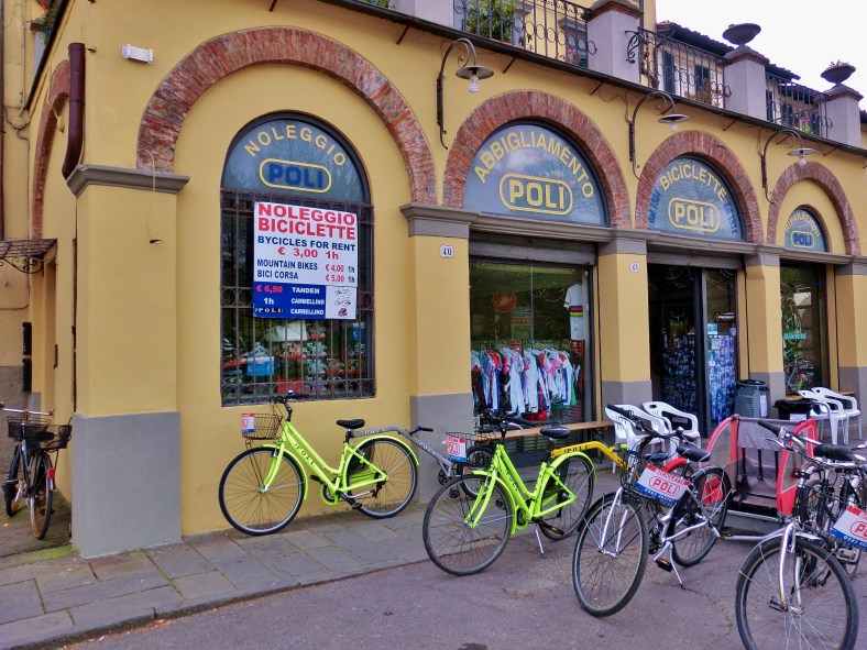 Rental, Bicyling Around Lucca, Tuscany, Italy