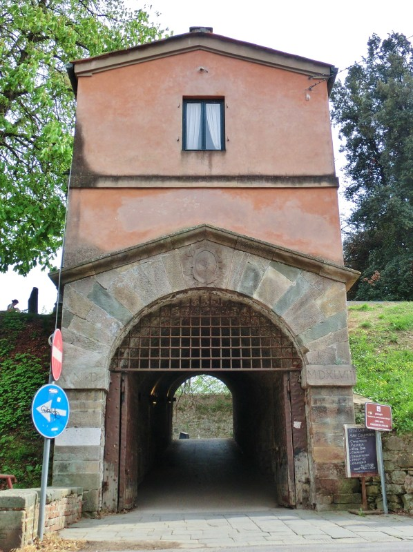 City Gate, Lucca, Tuscany, Italy