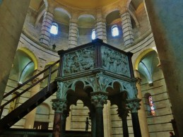 Baptistery, The Place of Miracles, Pisa, Along The North West Tuscan Way by Martin Cooney