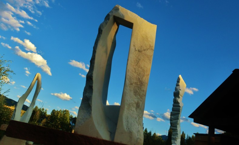 'Oblique Perspective', 1314 Winter Collection, Colorado Yule Marble by MARTIN COONEY