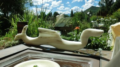 'Nessie', Colorado Yule Marble by Martin Cooney