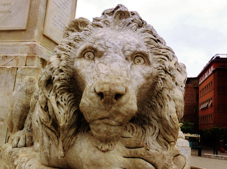 The Lions of Massa, Italy