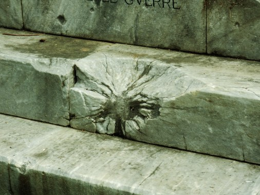 War Memorial, Pietrasanta, Tuscany, Italy