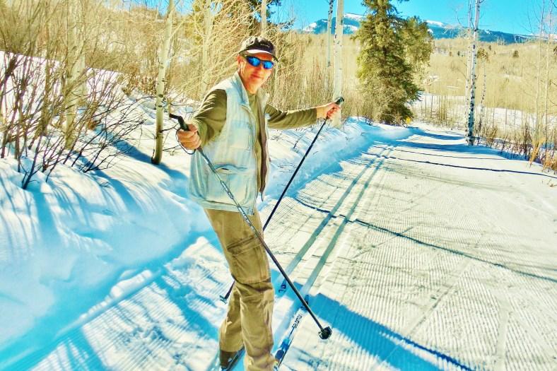 Author, Owl Creek Road Trail, Aspen/Snowmass Village Express. MARTIN COONEY