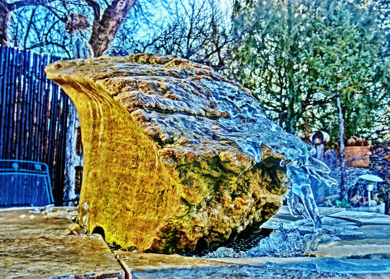 'Bird Mountain Fountain',